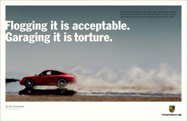 Porsche 911 Flogging