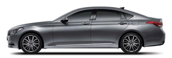 Hyundai genesis_side view