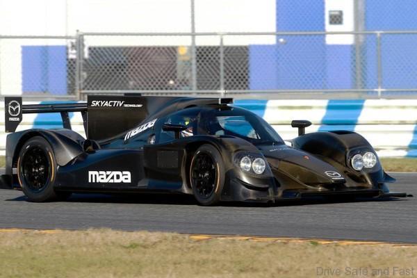 Tudor race test daytona