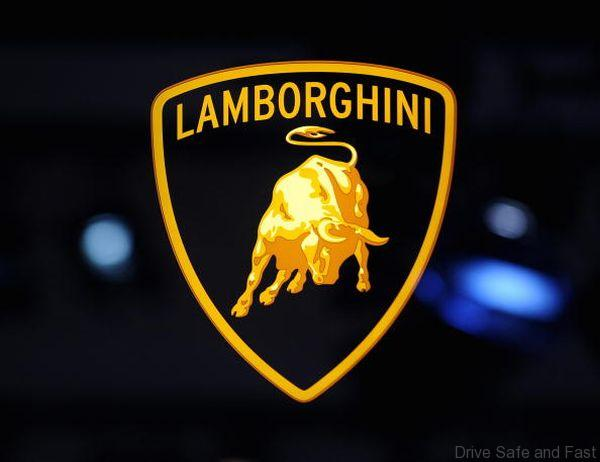 Logo of Lamborghini at the North America