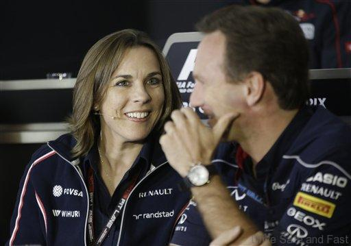 Claire Williams, Christian Horner