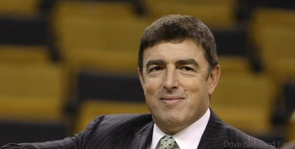 Boston Celtics owner Wyc Grousbeck prior to a basketball game in Boston, Friday, Oct. 30, 2009. (AP Photo/Charles Krupa)