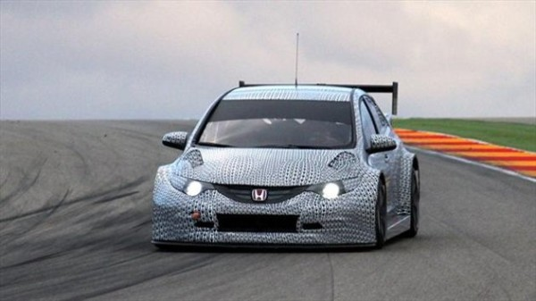 Honda WTCC car
