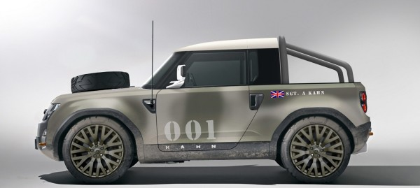 Land Rover Defender DC100 Concept by Project Kahn
