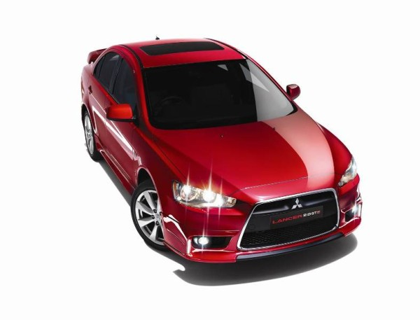 Mitsubishi Lancer GTE with power sunroof