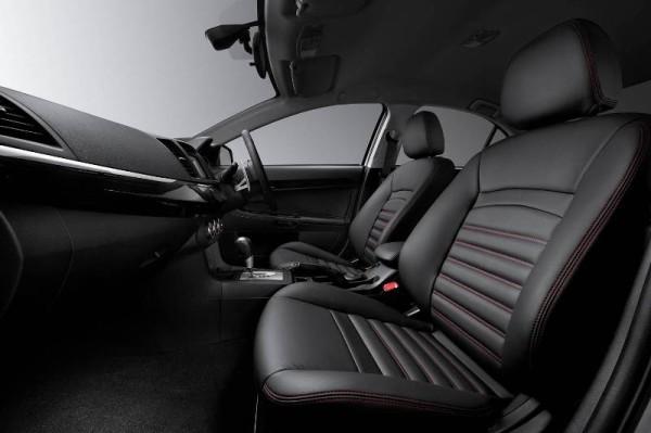 Mitsubishi Premium Nappa Leather Seats