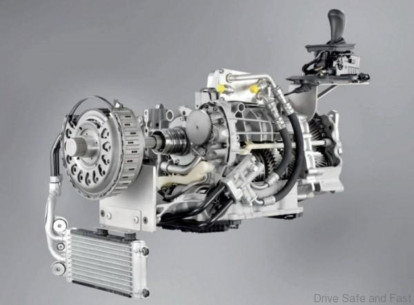 BMW 7-speed-gearbox