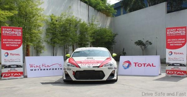 Total Oil Malaysia and Wing Hin Motorsports