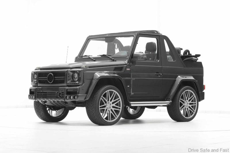 Brabus drops the top on the g wagon drive safe and fast for Mercedes benz g500 price