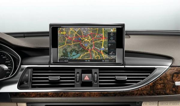 Audi A6 MMI Navigation