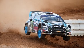 Ken Block Wins Red Bull Global Rallycross Charlotte1