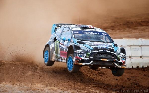 Ken Block Wins Red Bull Global Rallycross Charlotte1