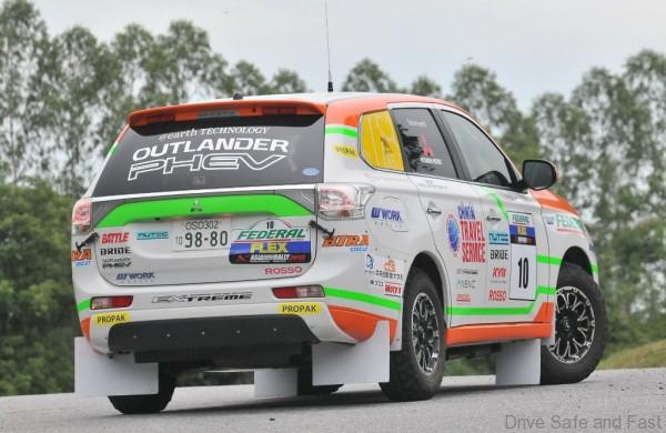 Mitsubishi Outlander rally4