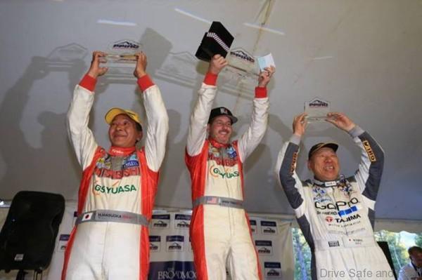 Mitsubishi wins!