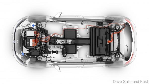 VW Golf E diagram