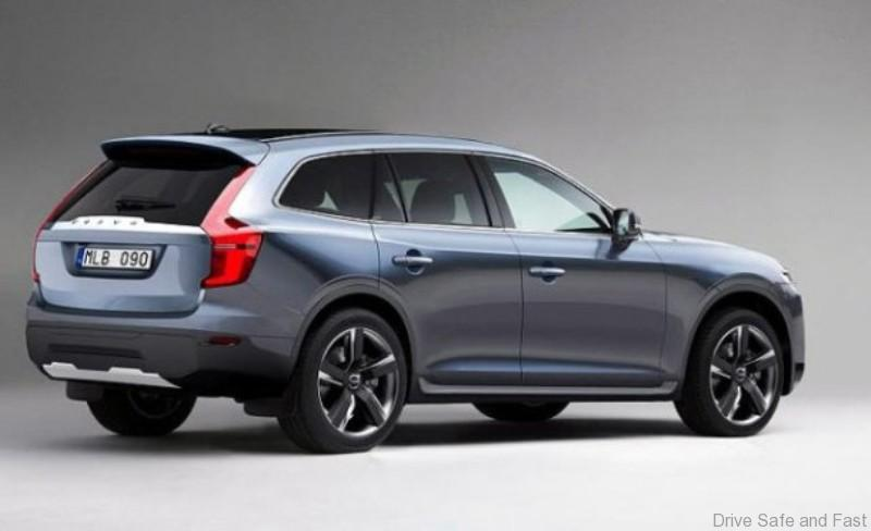 Volvo Xc90 2015 Model Global Launch Just 2 Weeks Away Drive Safe