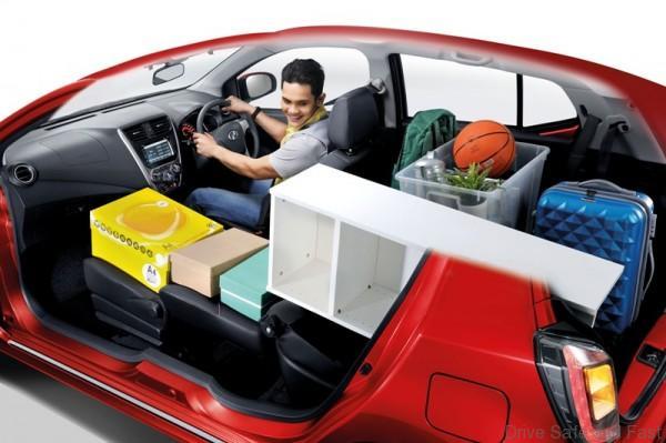 Front & Rear Seat Full Flat