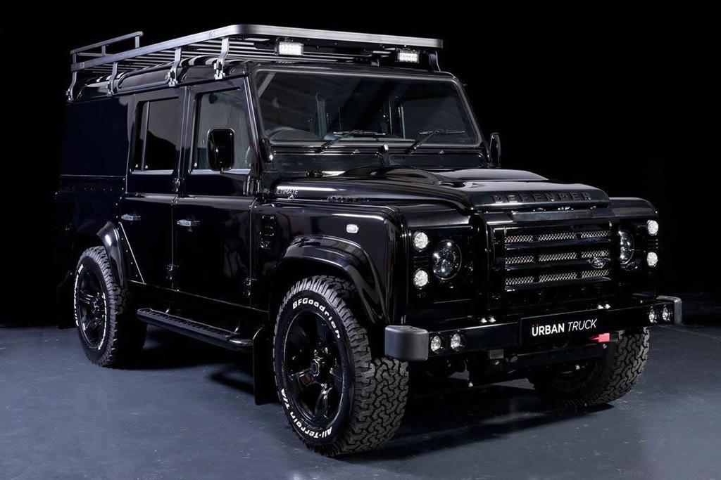 Land Rover Defender Gets Urban Trucks Treatment Drive