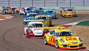 2014 Porsche Carrera Cup Asia. Round 11 and 12.Shanghai, China. 17th - 19th October 2014.Photo: Drew Gibson.