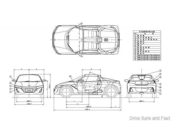 Honda S660 Blueprints
