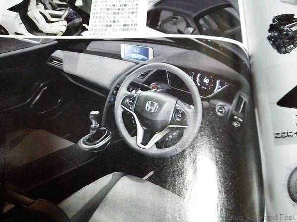 Honda S660 Interior