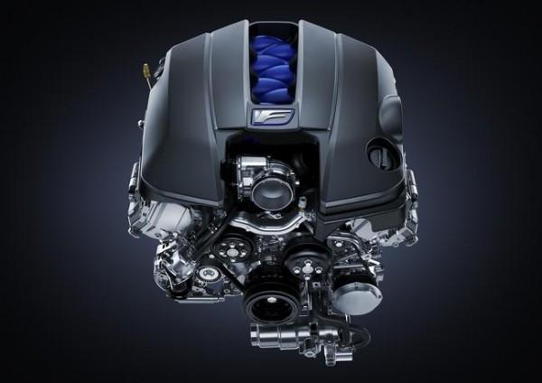 Lexus GS-F Engine