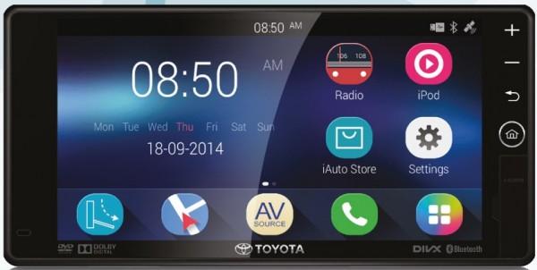 Toyota New Optional DVD-AVN