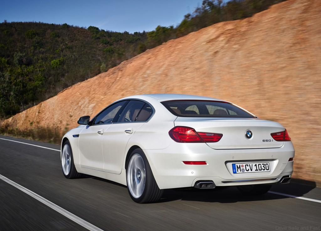 bmw 6 series gran coupe almost new