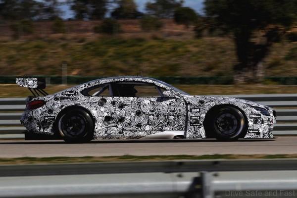 BMW M6 GT testing2