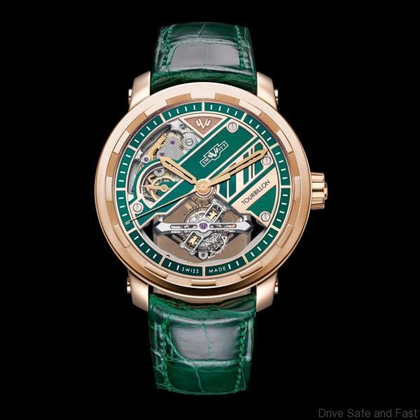 DeWitt Twenty-8-Eight Tourbillon Prestige green dial 2