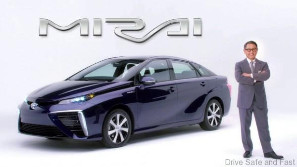 Toyota mirai-production