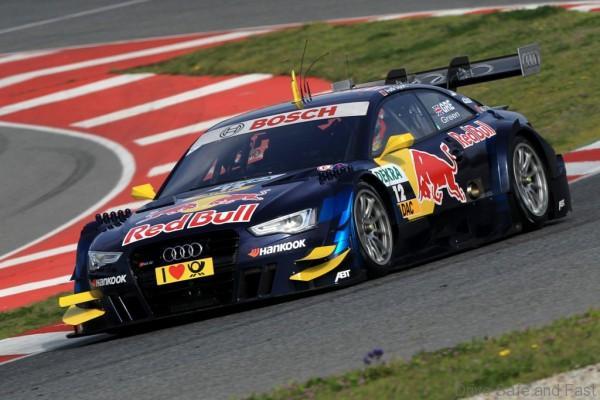 Motorsports / DTM: german touring cars championship 2013, Test Barcelona, Jamie Green Audi Sport Team Abt Sportsline Audi RS 5 DTM *** Local Caption *** +++ www.hoch-zwei.net +++ copyright: HOCH ZWEI