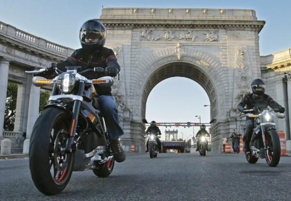 Project LiveWire - Harley-Davidson's first electric motorcycle - is touring the world in 2015 with events in eight countries on three continents to seek consumer feedback on the new motorcycle. (PRNewsFoto/Harley-Davidson, Inc.)