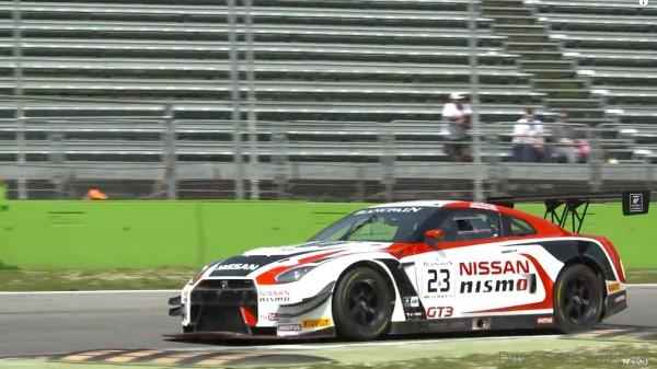 Nissan GT-R NISMO GT3s demonstrate good pace at Monza in first r