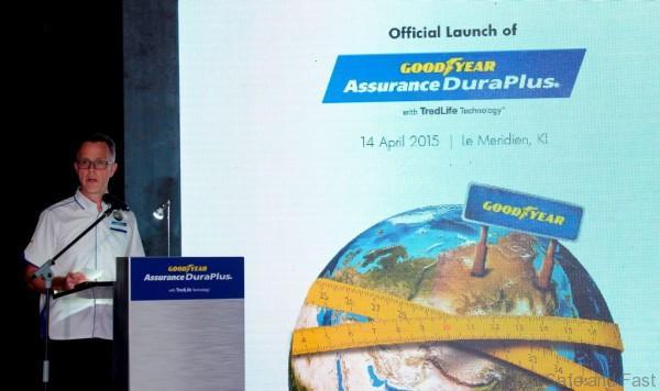Goodyear Assurance Duraplus Launch Picture 2