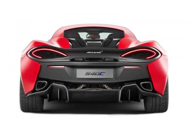 McLaren 540 C shanghai 2