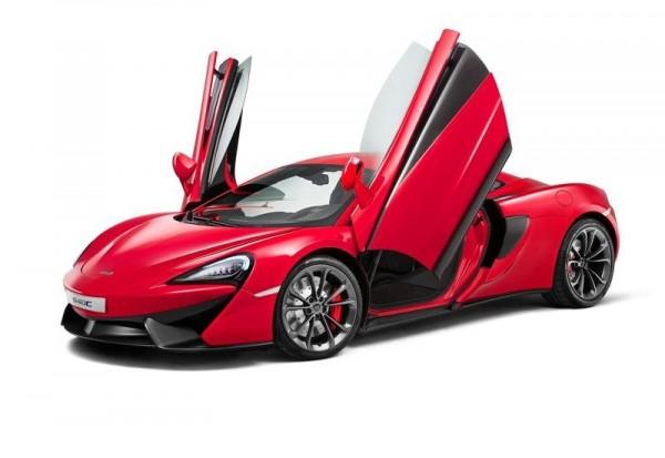 McLaren 540 C shanghai