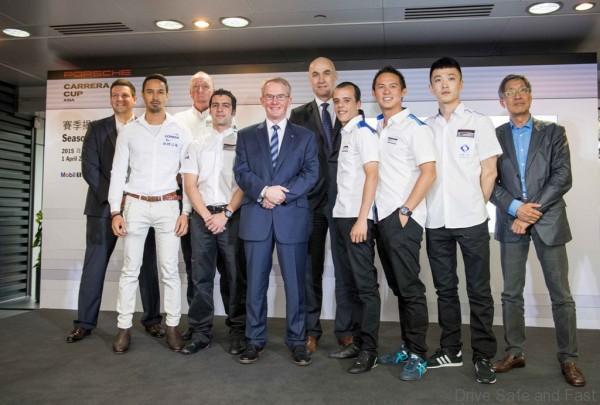 Porsche Carrera Cup Asia 2015 Season Launch