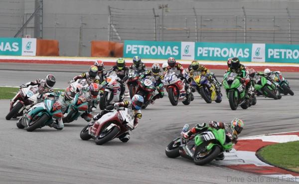 Sepang Circuit from April 1-3 for the official pre-season test
