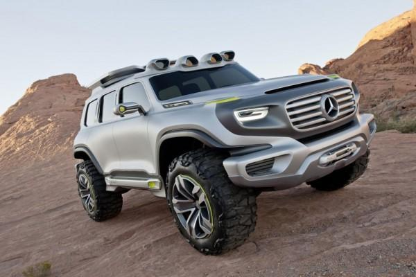 Mercedes will unveil its hydrogen fuel-cell-powered Ener-G-Force sports utility vehicle at the Los Angeles Design Challenge in December
