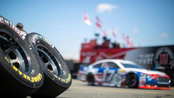 is seen at Charlotte Motor Speedway during the Goodyear Support Our Troops, on Thursday, May, 21, 2015 in Concord, N.C. (Chris Keane/AP Images for Goodyear)