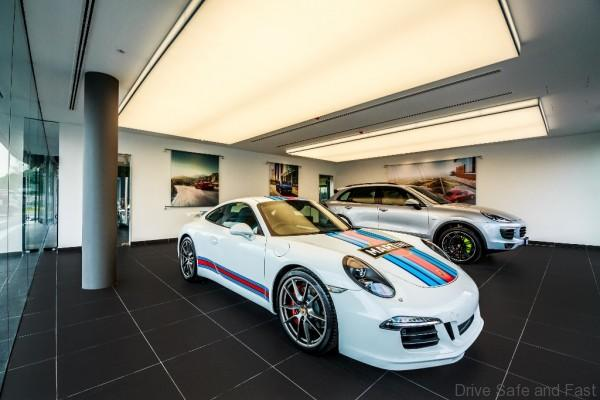 Porsche CSB_Delivery Bay