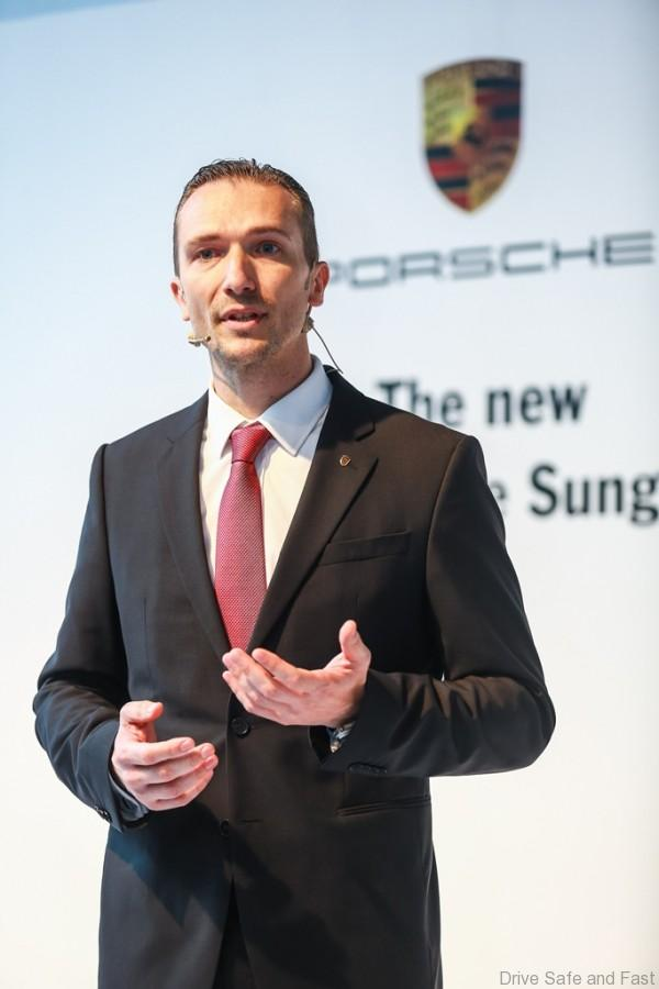 Porsche MD of Porsche Asia Pacific