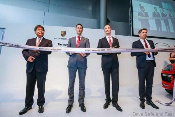 Porsche Ribbon Cutting Ceremony