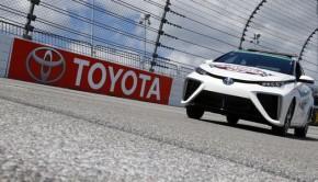 Mirai NASCAR Toyota Fuel Cell