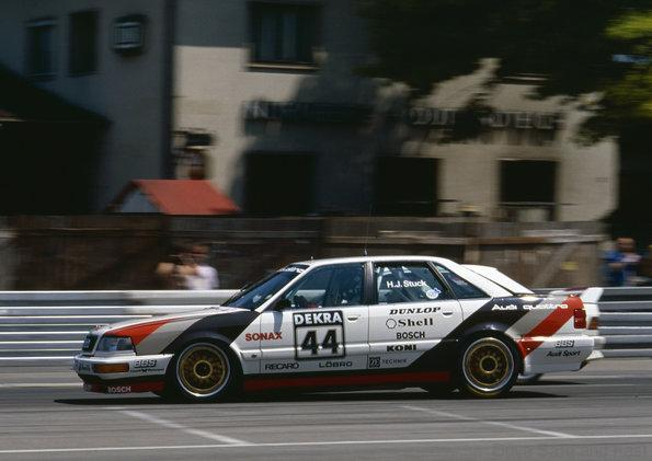 Audi RS5 DTM Norisring quattro