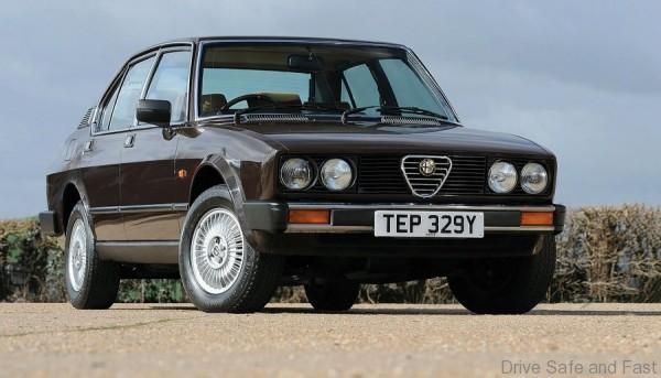 Alfa-sedan