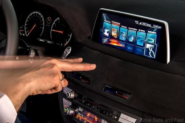 BMW 7 Series Gesture Control ConnectedDrive iDrive
