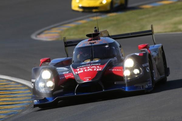 33 CHENG David (USA) TUNG Ho Pin (NLD) FONG Adderly (CAN) Ligier JSP2 HPD Lmp2 team Oak Racing Team Asia , action during the 2014 Le Mans 24 hours test day, on June 1st 2014, at Le Mans circuit, France. Photo Clément Marin / DPPI