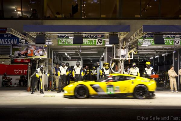 Corvette Racing; 24 Hours of Le Mans; Le Mans, France; June 14-15, 2014; Chevrolet Corvette C7.R #73 driven by Jan Magnussen, Antonio Garcia, and Jordan Taylor; Chevrolet Corvette C7.R #74 driven by Oliver Gavin, Tommy Milner, and Richard Westbrook (Richard Prince/Corvette Racing Photo).